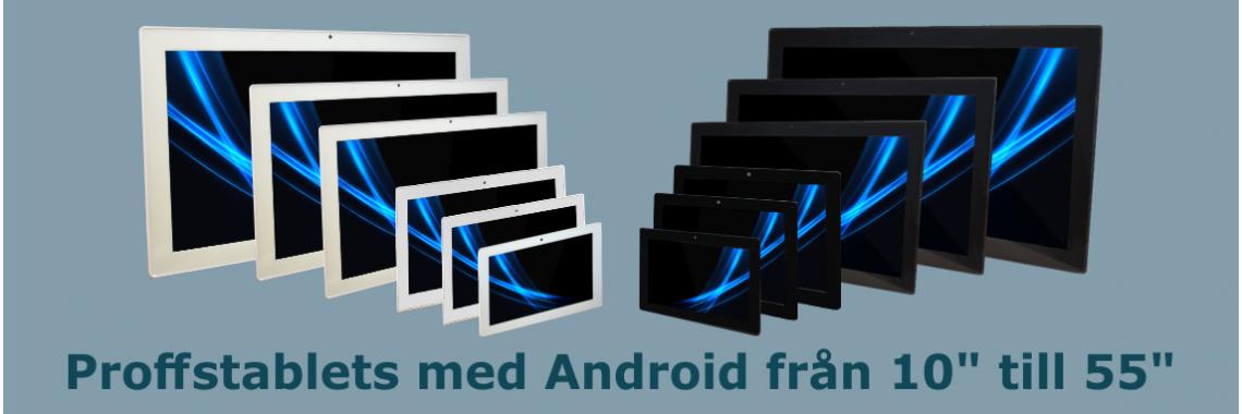 Proffstablets med Android