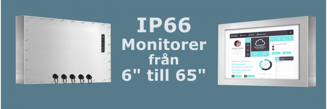 IP66 Monitorer