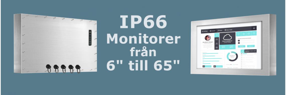 IP66 Monitorer