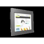 Panelmonterad bildskärm med PC