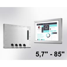 IP66 Monitorer 5,7'' - 85''
