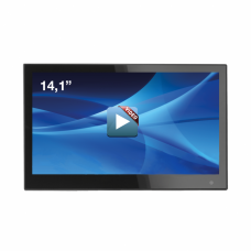 "14,1"" Integrated Video Display"