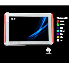 15,6'' Vit Android tablet för rumsbokning NFC-RFID