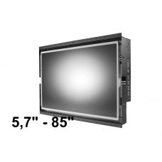 Inbyggnads monitor 5,7'' - 85''